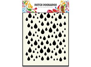 Dutch Doobadoo Dutch Mask Art A6 Rain drops