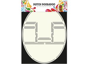 Dutch Doobadoo Dutch Card Art Pop up card oval