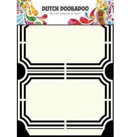 Dutch Doobadoo Dutch Shape Art A5 Ticket