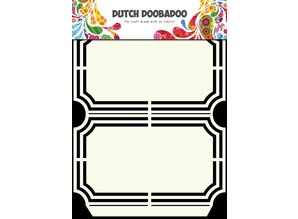 Dutch Doobadoo Dutch Shape Art A5 Ticket