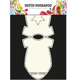 Dutch Doobadoo Dutch Card Art Baby onesie