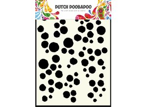 Dutch Doobadoo Dutch Mask Art A5 Grunge Dots