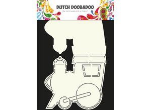 Dutch Doobadoo Dutch Card Art Train A4