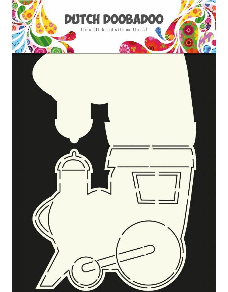 Dutch Doobadoo Dutch Card Art Train A4