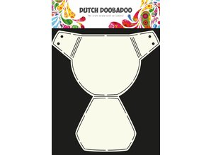 Dutch Doobadoo Dutch Card Art Diaper A4