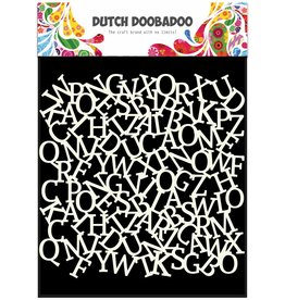 Dutch Doobadoo Dutch Mask Art 15 x 15 cm Alphabet