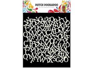 Dutch Doobadoo Dutch Mask Art 15 x 15 cm Alphabet