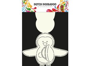 Dutch Doobadoo Dutch Card Art A4 Penguin