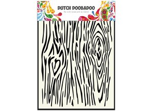 Dutch Doobadoo Dutch Mask Art A5 Woodgrain