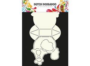 Dutch Doobadoo Dutch Card Art Chicken A4