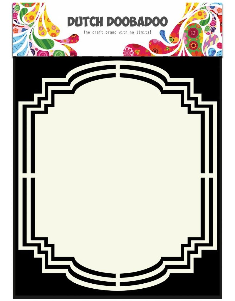 Dutch Doobadoo Dutch Shape Art A5 Label 2