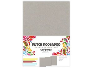 Dutch Doobadoo Dutch Chipboard A5 10 sheets