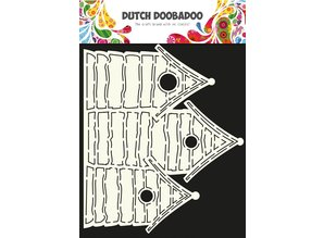 Dutch Doobadoo Dutch Card Art Beachhouse A4