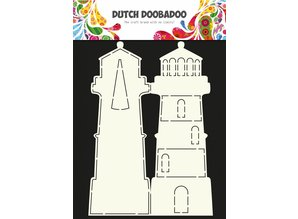 Dutch Doobadoo Dutch Card Art Lighthouse A4