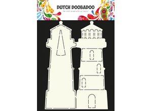 Dutch Doobadoo Dutch Card Art Lighthouse A4