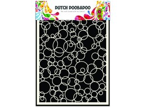 Dutch Doobadoo Dutch Mask Art A5 Bubbles 3