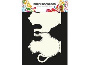 Dutch Doobadoo Dutch Fold Card Art A4 Teapot