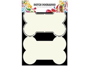 Dutch Doobadoo Dutch Fold Card Art A5 Dog Bone