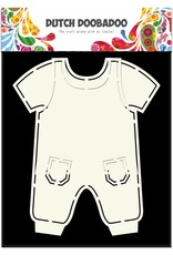 Dutch Doobadoo Dutch Fold Card Art A5 Dungarees