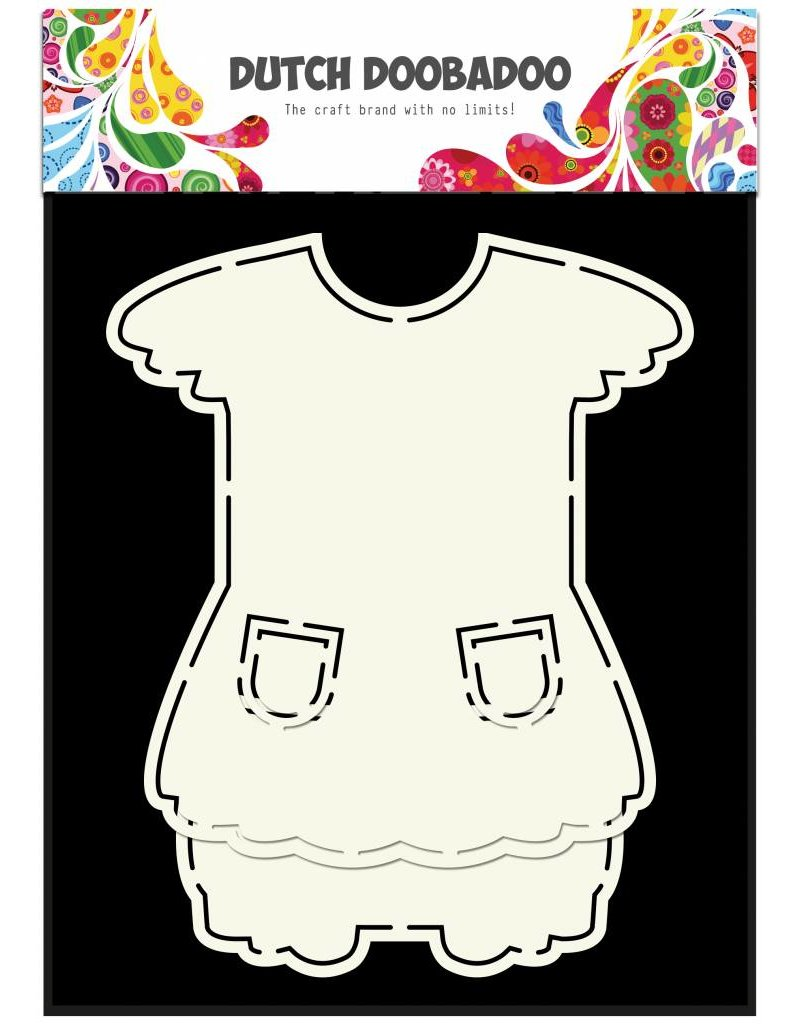 Dutch Doobadoo Dutch Fold Card Art A5 Dress