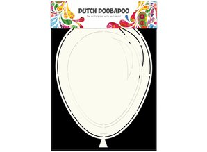 Dutch Doobadoo Dutch Fold Card Art A5 Balloons (2x)