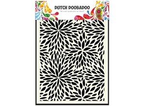 Dutch Doobadoo Dutch Mask Art A5 Floral Waves