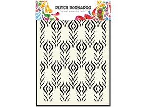 Dutch Doobadoo Dutch Mask Art A5 Floral Feather