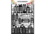 Dutch Doobadoo Dutch Paper Art A5 Black Halloween - Copy