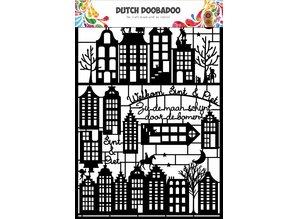 Dutch Doobadoo Dutch Paper Art A5 Black Halloween - Copy