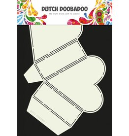 Dutch Doobadoo Dutch Box Art Heart A4