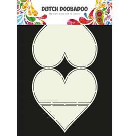 Dutch Doobadoo Dutch Card Art Easel Card Heart A4