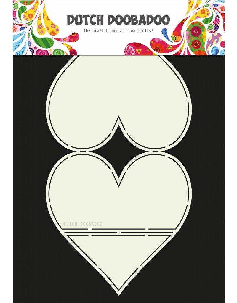 Dutch Doobadoo Dutch Card Art Easel Card Heart A4
