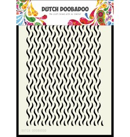 Dutch Doobadoo Dutch Mask Art A5 Floral Waves