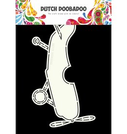 Dutch Doobadoo Dutch Card Art Airplane A5