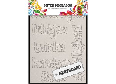 DUTCH GREYBOARD ART