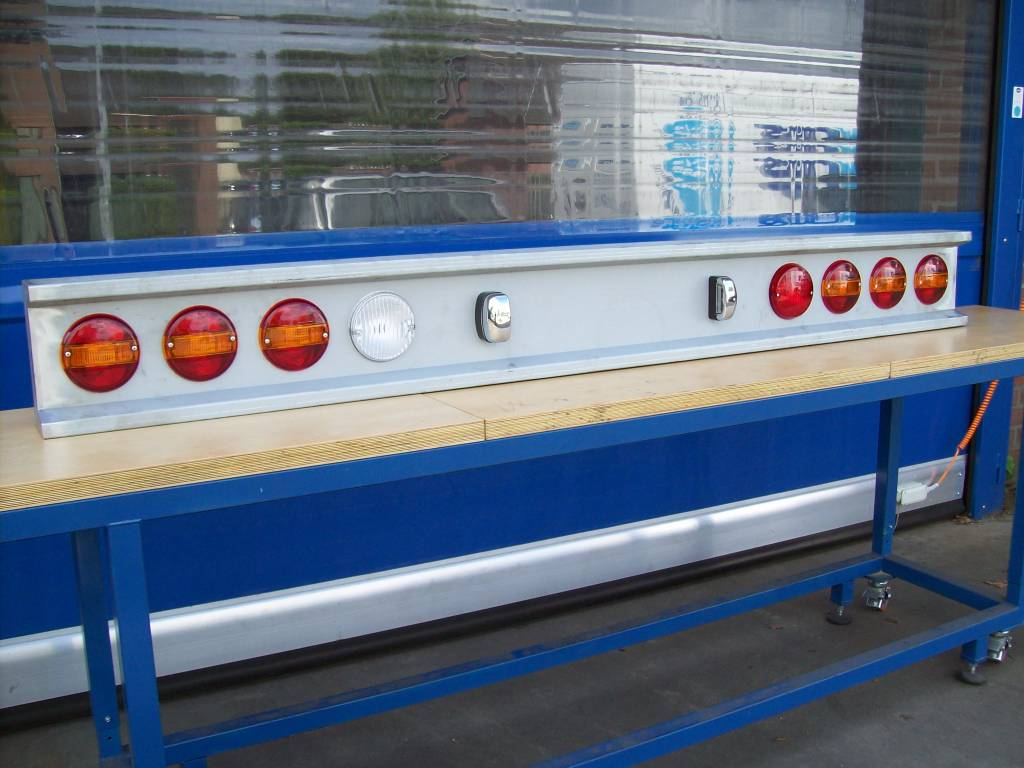 Led Lampen Aanbieding : Vts bumper ronde gaten voor led lampen staal truckbumper