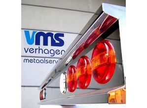 VTS Bumper 8x ronde gaten RVS