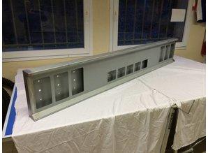 VTS Bumper 6x vierkante gaten met 5 vierkante gaten in het midden