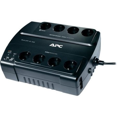 APC Power-Saving Back-UPS ES 8 Outlet 550VA 230V Schuko