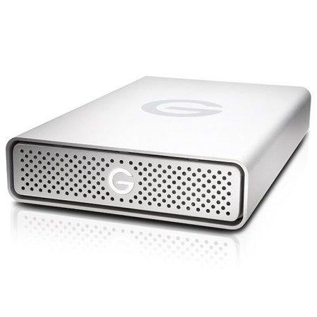 G-Technology G-Technology G-DRIVE USB 8000GB Zilver externeharde schijf