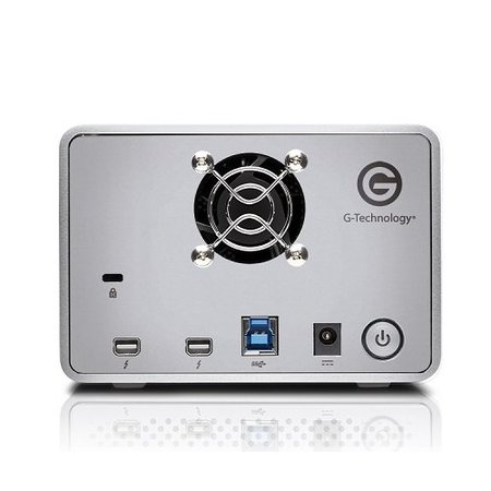 G-Technology G-Technology G-RAID HDD enclosure Zilver