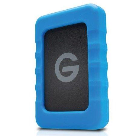 G-Technology G-Technology GDEVRAWEA20001ADB 2000GB Blauw, Grijs externeharde schijf