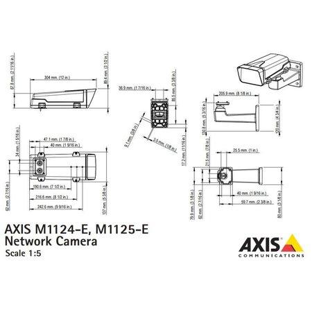 Axis M1125-E Netwerk Box Camera