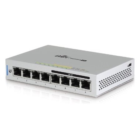 Ubiquiti UniFi Switch 8, 60W, 8 Gbit Ports, 4 * PoE out