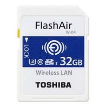 SD Card  32GB Toshiba SDHC FlashAir W-04/Wireless Class10 retail