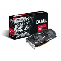 ASUS Dual-RX580-O8G                 (8GB,DVI,HDMI,DP,Active)