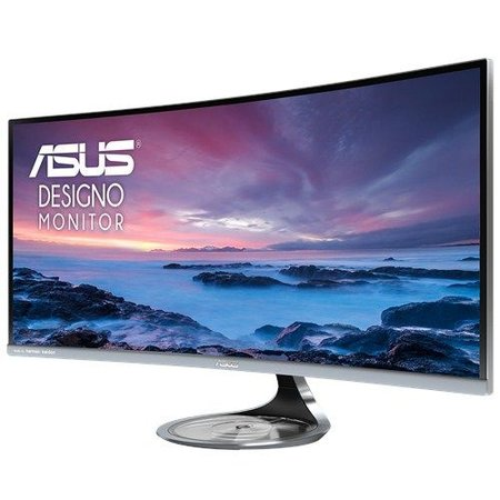 "Asus ASUS MX34VQ 34"" Ultra-Wide Quad HD LED Mat Gebogen Grijs computer monitor"