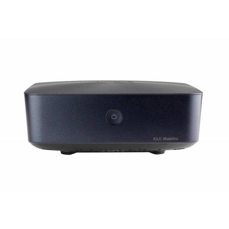 Asus ASUS VivoMini UN65U-M005M 3.9GHz i3-7100 0.8L  maat pc Blauw Mini PC