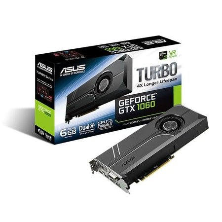 Asus ASUS TURBO-GTX1060-6G GeForce GTX 1060 6GB GDDR5