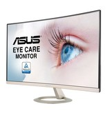 "Asus ASUS VZ27VQ 27IN WLED 1920X1080 27"" Full HD VA Zwart, Goud computer monitor"